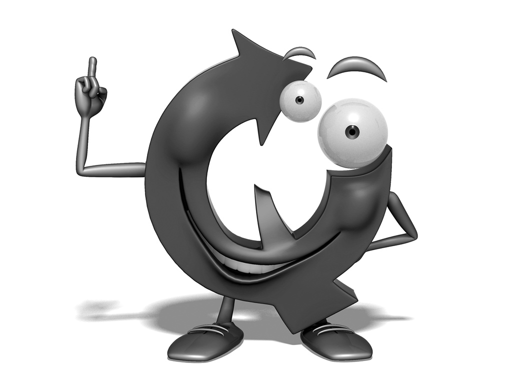 3D Q character, company mascot modeling