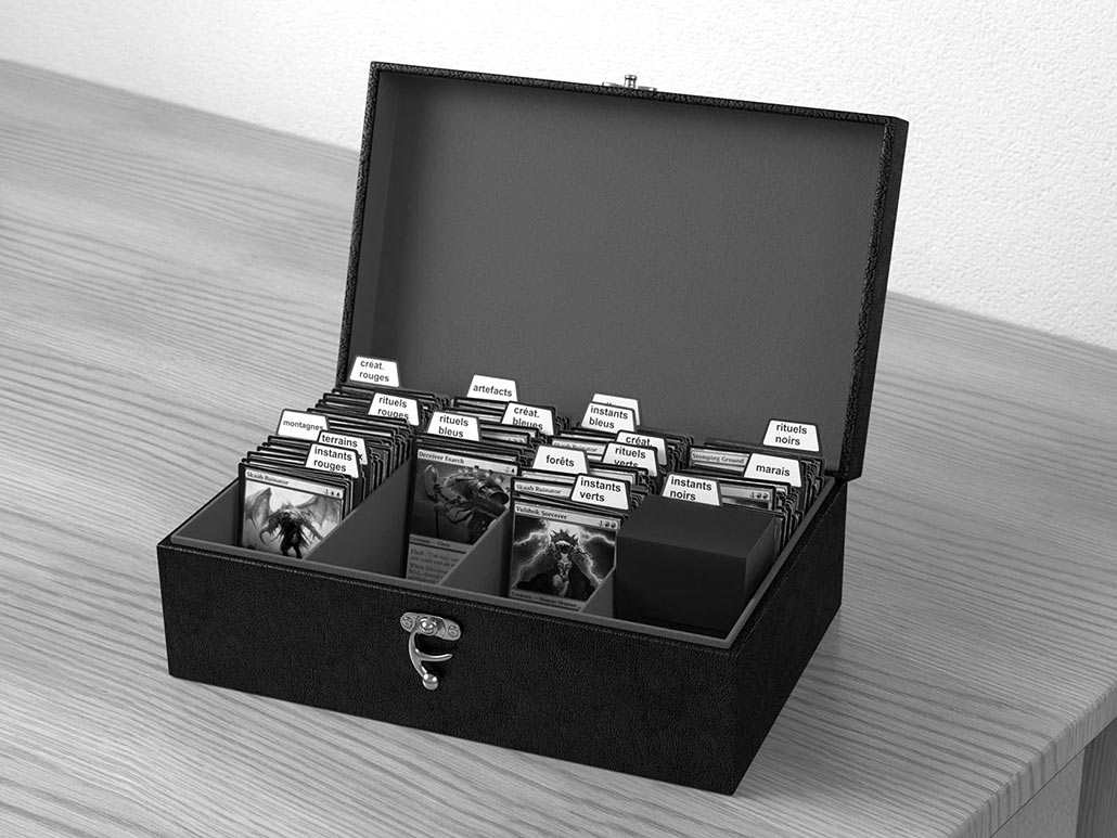 Card box, 3D product visual