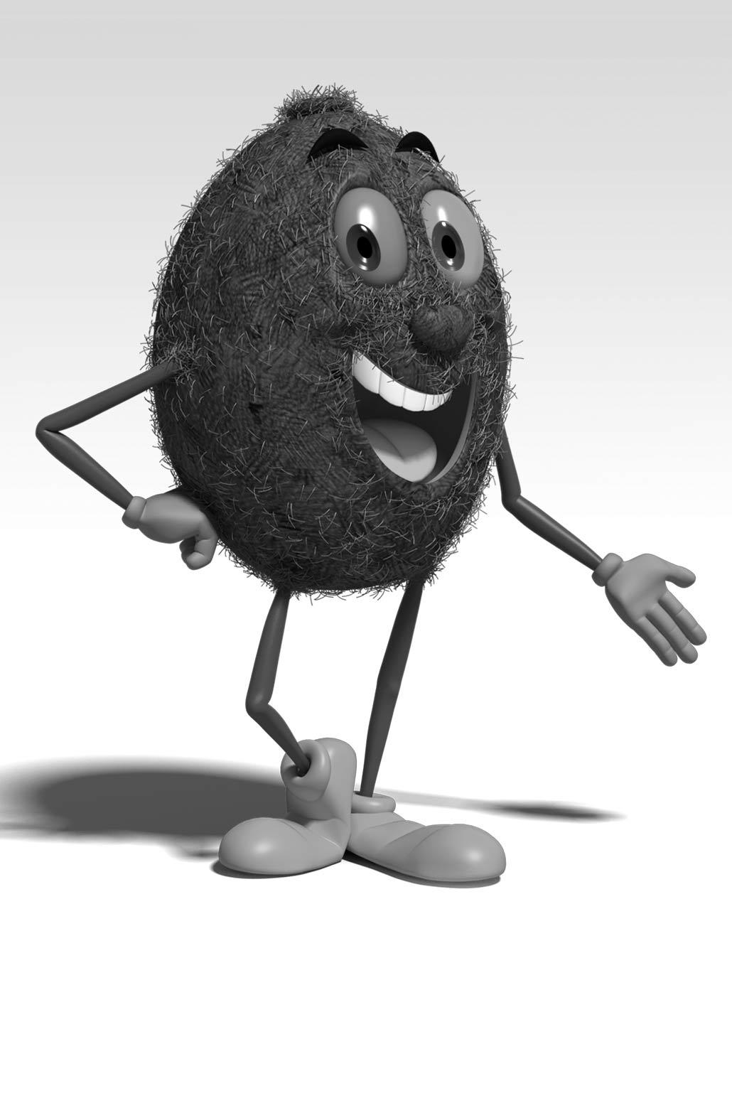 3D Kiwi, company mascot