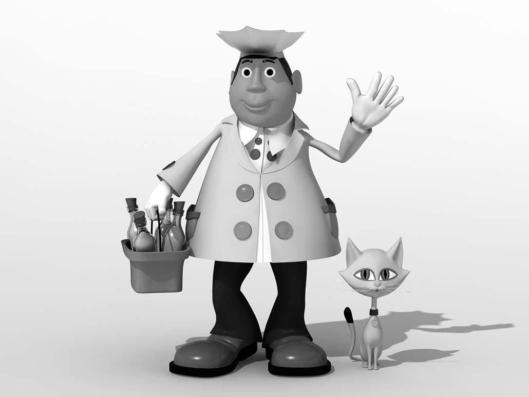 3D Milkman