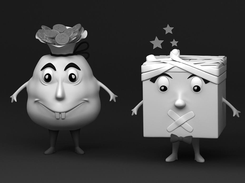 Options Family, Cute 3D characters